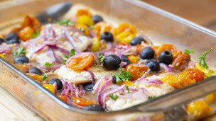 Thumbnail image for Mediterranean Baked Cod