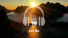 Day 18 – Stress – Let Go